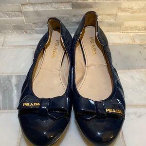Prada ballerinas, good condition